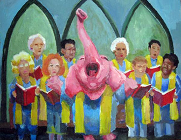 pink elephant choir